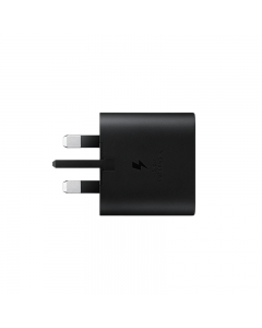 25W Fast Charger 3 Pin UK Adapter USB-C Interface